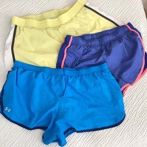 XL workout shorts lot